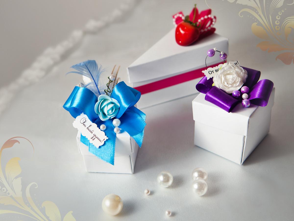 Как сделать подарки гостям на свадьбе своими руками